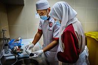 Urine testing, Berakas Health Center