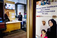 Healthcare service promotion at Kuala Lumpur International Airport (KLIA)