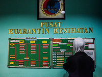 Health Quarantine Center at Kuala Lumpur International Airport (KLIA)
