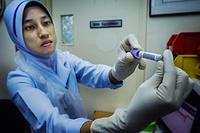 Laboratory at Health Clinic Precinct 9 in Putrajaya, Malaysia. CAPTION UNDER PROCESS