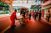 Emergency unit at Hospital Kuala Lumpur, Malaysia. CAPTION UNDER PROCESS