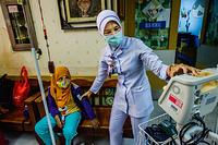 Pediatric ward at Hospital Kuala Lumpur, Malaysia. CAPTION UNDER PROCESS