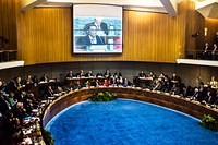 Day 1: View of the plenary session of the 67th session of the World Health Organization Regional Committee for the Western Pacific, at the Regional Office for the Western Pacific, Manila, 10 to 14 October 2016