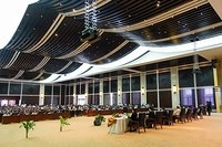 ASEM Convention Centre where the Lao People's Democratic Republic nationwide measles and rubella immunization campaign was held. Nationwide Measles and Rubella Campaign in Lao People's Democratic Republic, 17- 30 November 2014.
