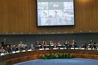 Plenary session during the First Regional Forum of WHO Collaborating Centres in the Western Pacific, at the Regional Office for the Western Pacific, Manila, Day 1, 13-14 November 2014.