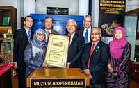 Dr Shin Young-soo, WHO Regional Director for the Western Pacific visiting Kuala Lumpur's Muzium Bioperubatan (Biomedical Museum). Note: Titles of staff/delegates reflect their respective position at the time the photo was taken.