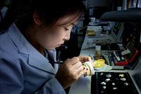Dental laboratory at Seoul National University Dental Hospital