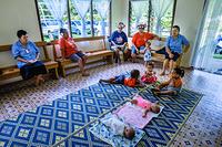 A nursery at the Te Piri Community Clinic in Rarotonga