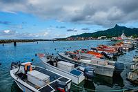 Fisherman's port in Rarotonga