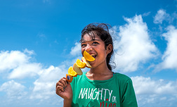 Promoting healthy food in celebration of  the World Health Day in Nauru