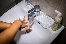 Hand washing at home