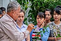 Traditional medicine workshop at the Traditional Medicine Center in Phnom Penh