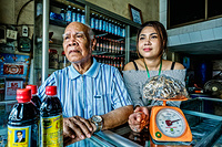 Two generations of traditional medicine practitioners in Phnom Penh