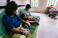 Outpatients waiting room, Betio hospital