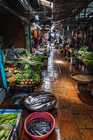 Food market in Phnom Penh