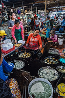 Street food at the market