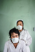TB ward in Tungaru Central Hospital in Tawara