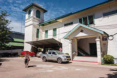 Mahosot hospital in Vientiane