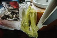 Health-care waste bag in Wainibokasi Hospital